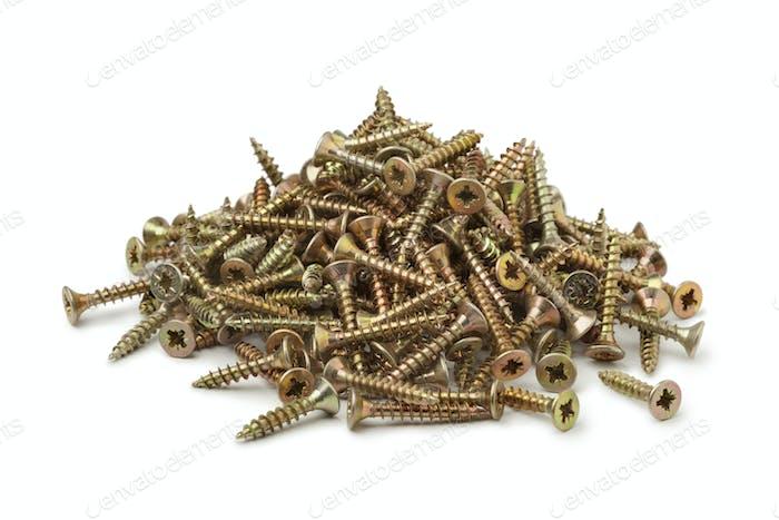 Metal screws full frame