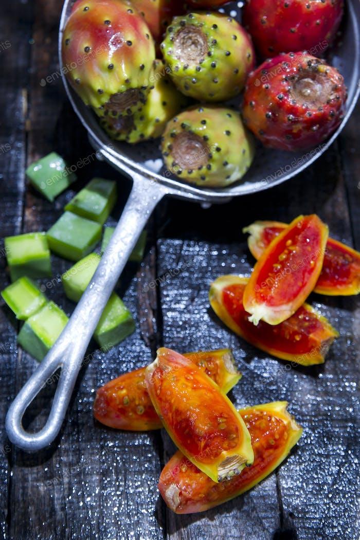 Prickly Pear Ripe