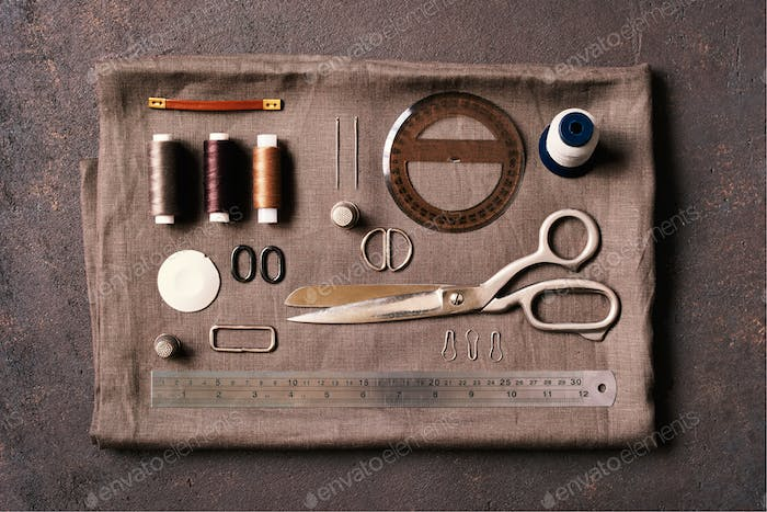 Brown Sewing Composition