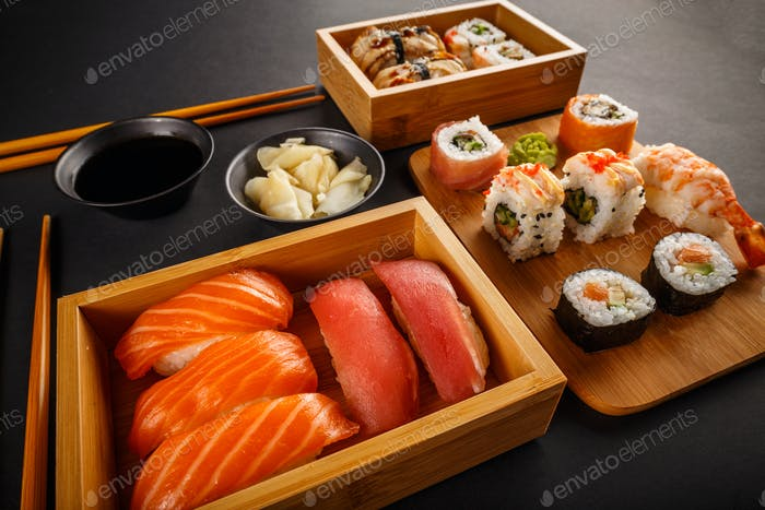 Sushi rolls composition