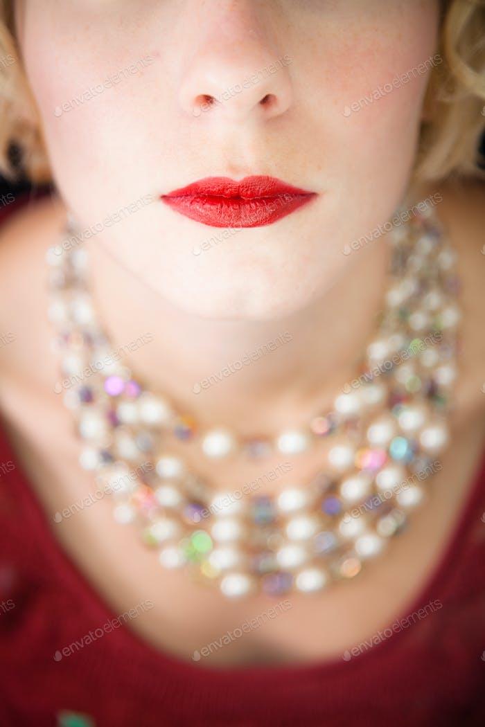 Beautiful red lips !