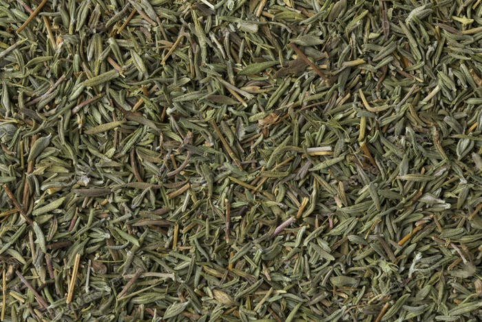 Dried Thyme close up