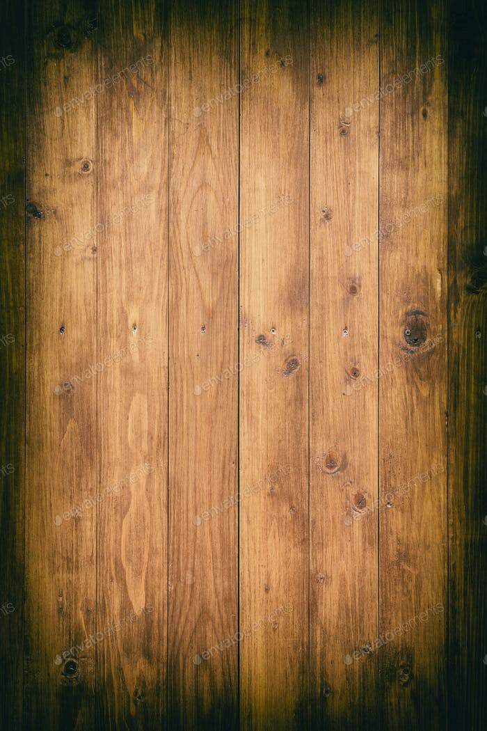 Rustic wooden boards