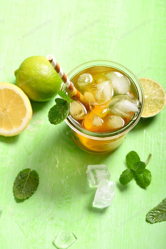 Refreshing Cocktail or Lemonade