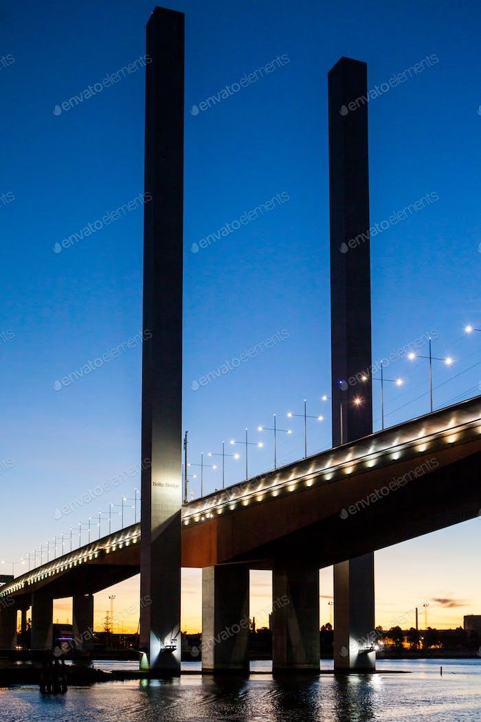 Bolte Bridge at Dusk