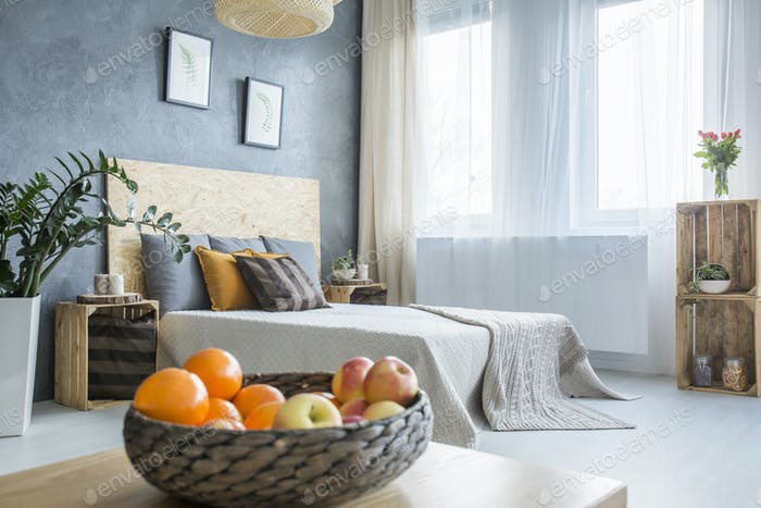 Botanic style bedroom