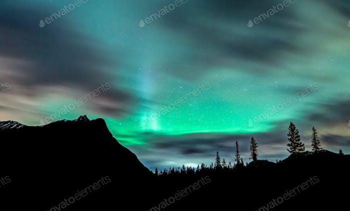 Aurora Over Banff Canada