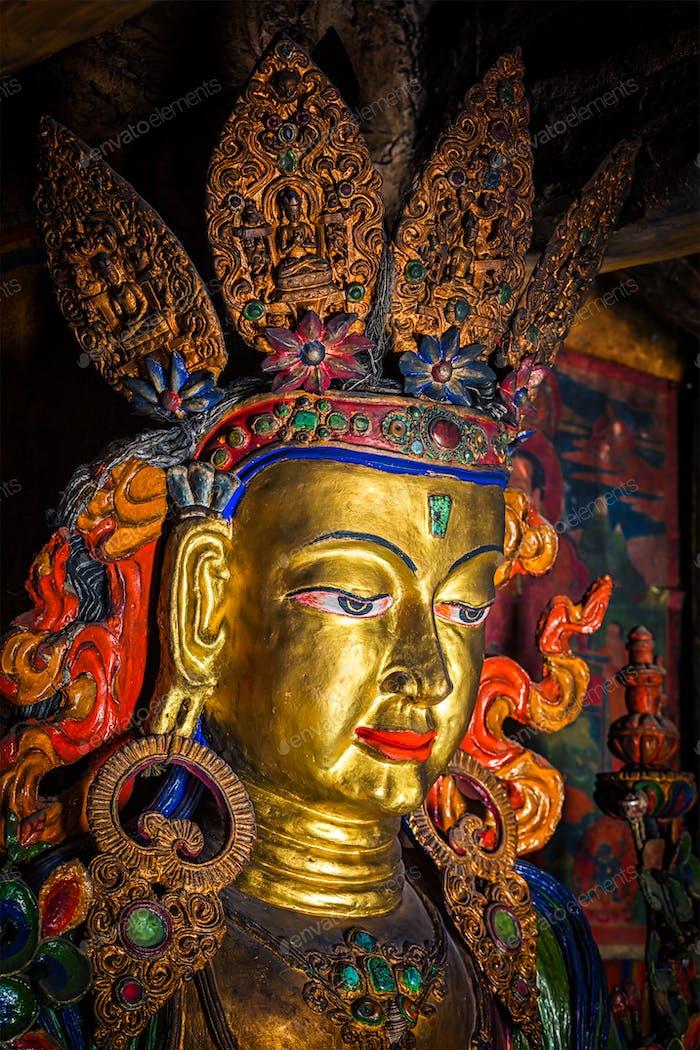 Maitreya Buddha-Statue
