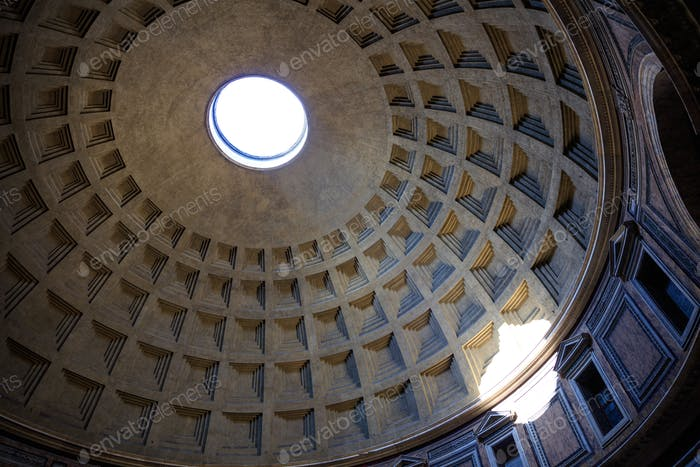 Das Pantheon in Rom, Italien