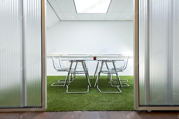 54123,Modern meeting room in office