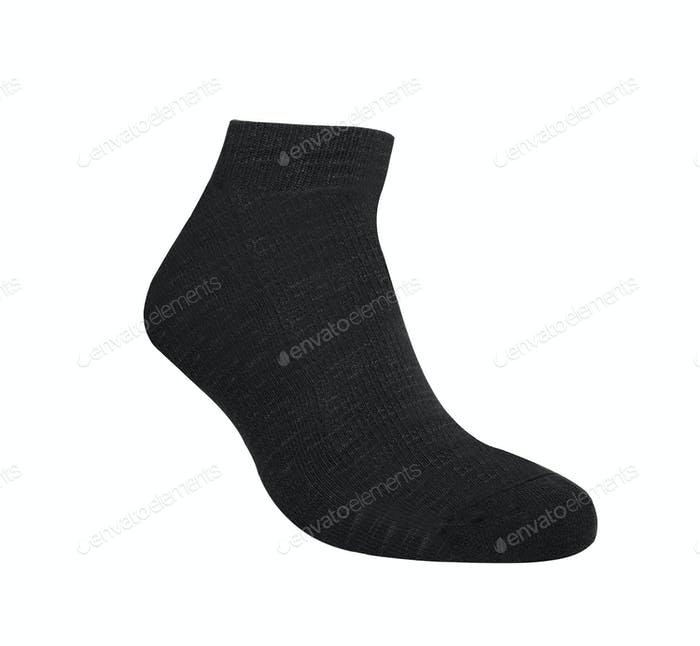 Sock isolated on white background