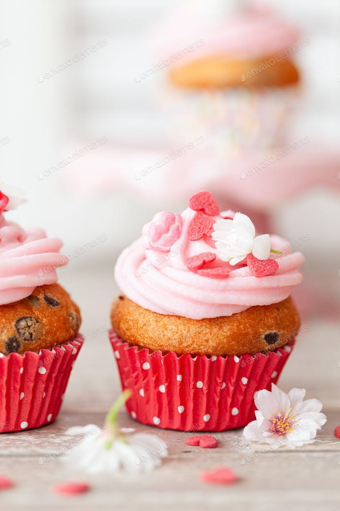 Rosa Cupcakes