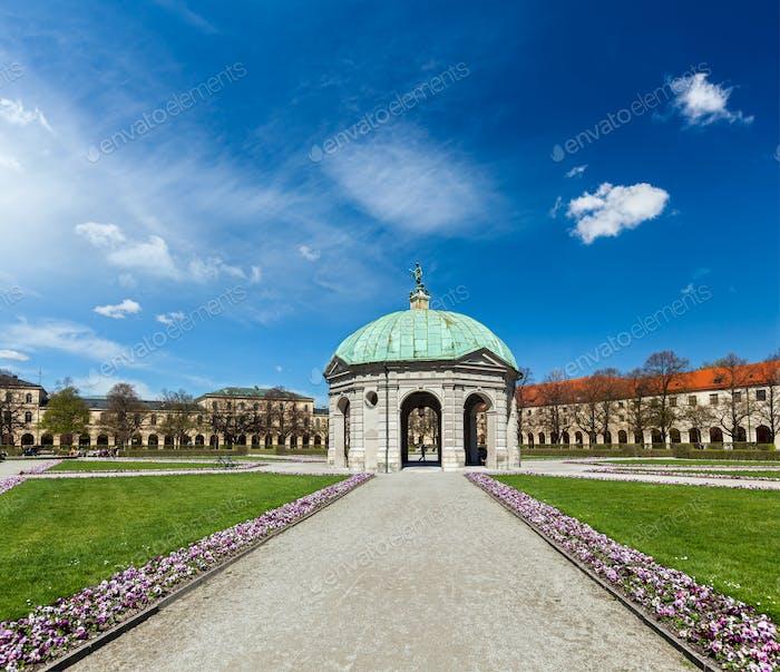 Pavillon im Hofgarten. München, Deutschland