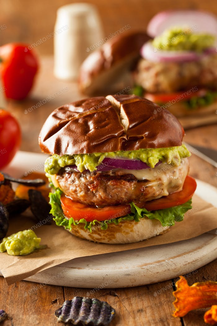 Homemade Healthy Turkey Burgers