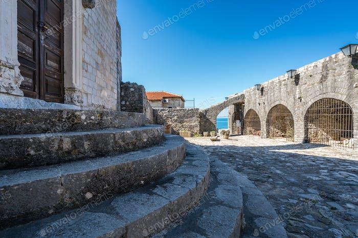 Eingang zum Archäologischen Museum in Ulcinj