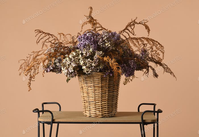 beautiful dried bouquet