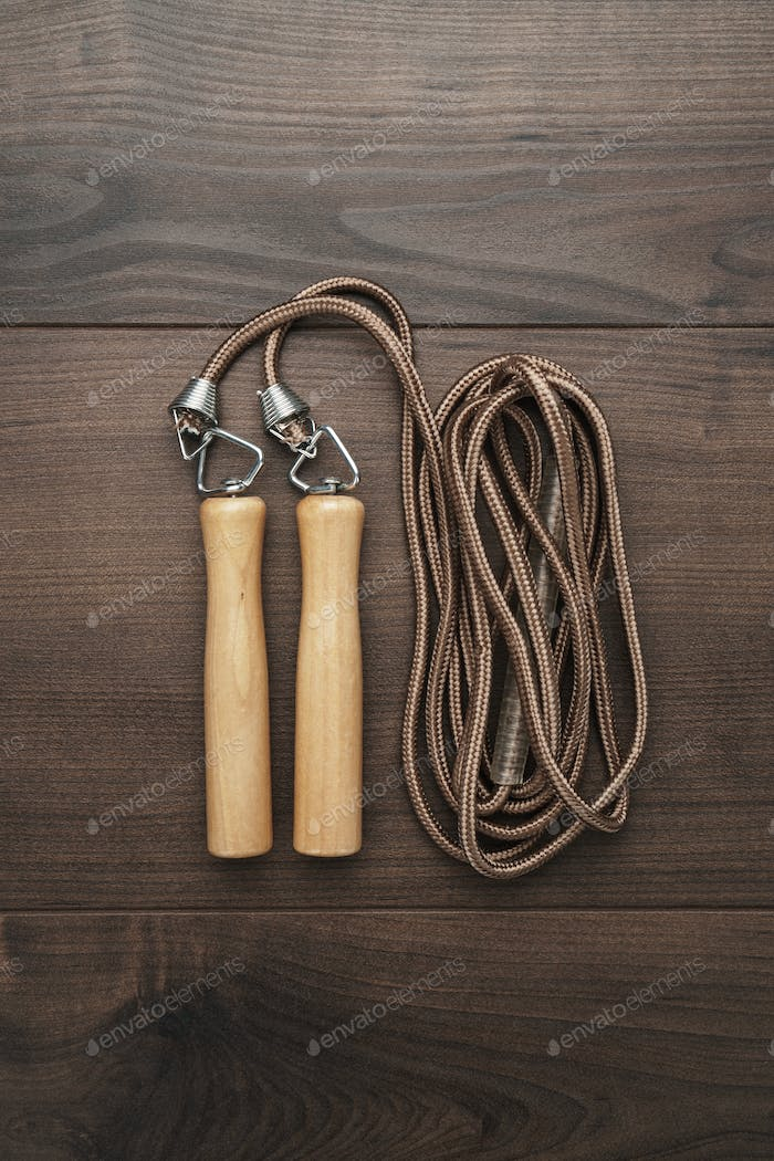 Skipping Rope For An Exercise