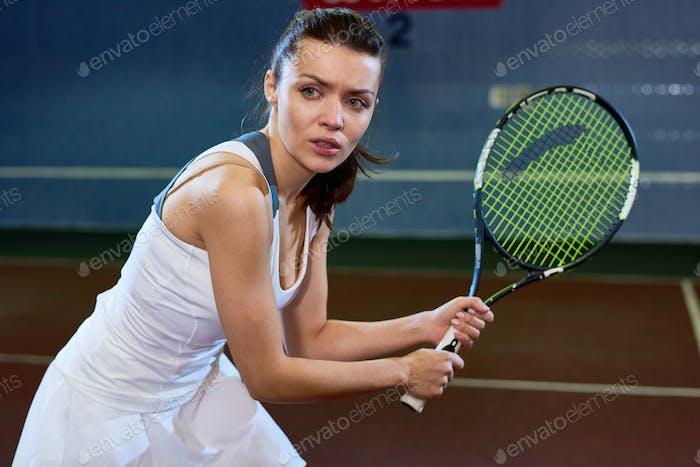 Fierce Tennis Player