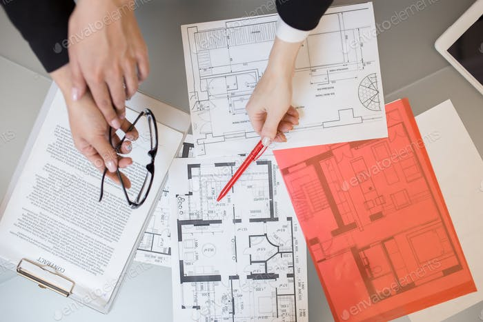 House Plans in Real Estate Agency