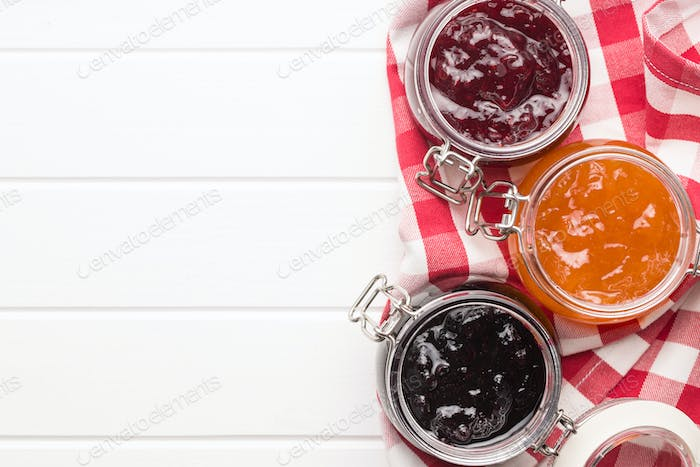 Tasty fruity jam.