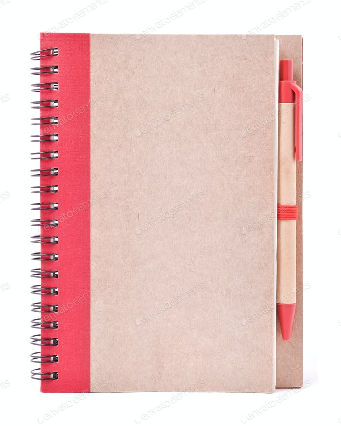 Spire Notebook with Pen