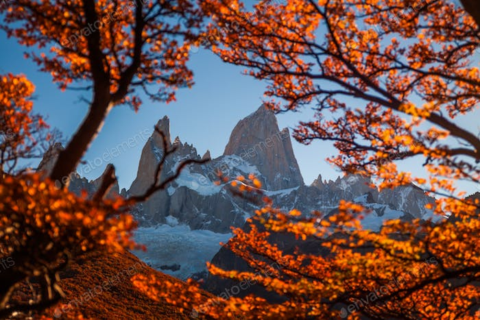 Autumn in Patagonia. Fitz Roy, Argentina
