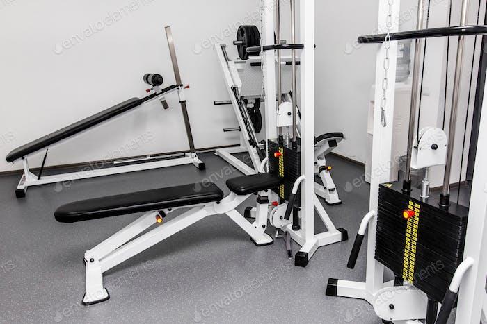 Rehabilitationsgeräte in der Therapie Klinik