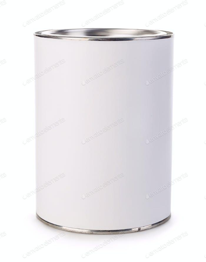 Leeres Eisen kann auf weißem Hintergrund isoliert werden.