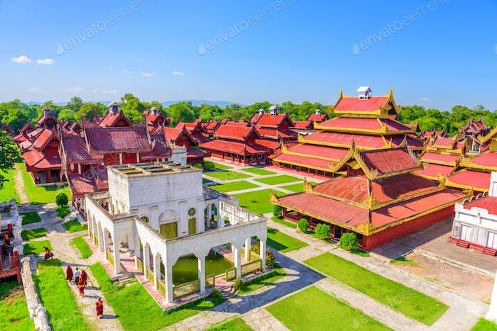 Mandalay, Myanmar Palace