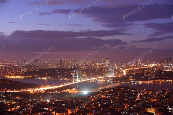 Istanbul Türkei Bosporus Brücke