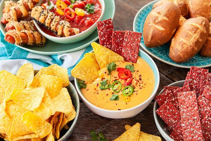 Delicious party food