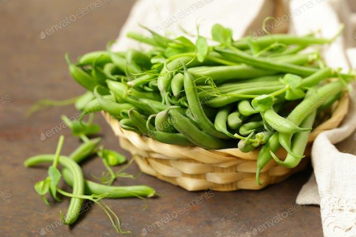 Green Organic Beans