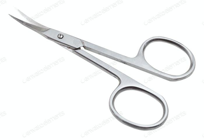 pair of manicure scissors