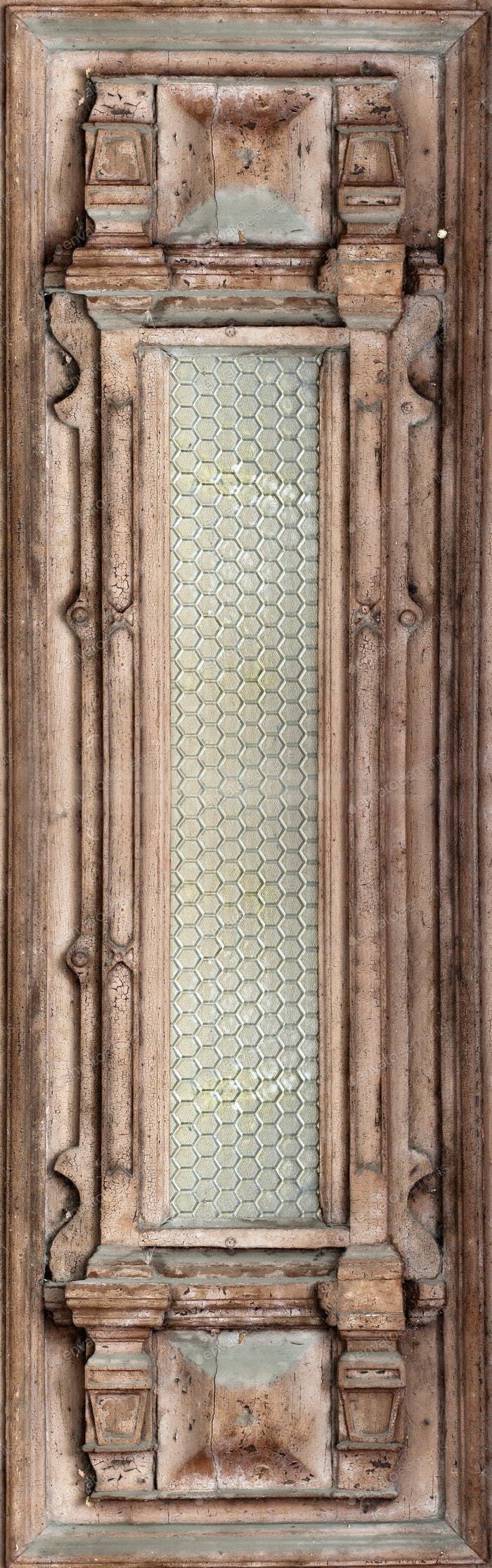 Beautiful antique wooden door