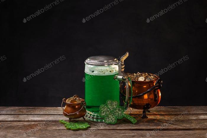 St Patrick's Day concept