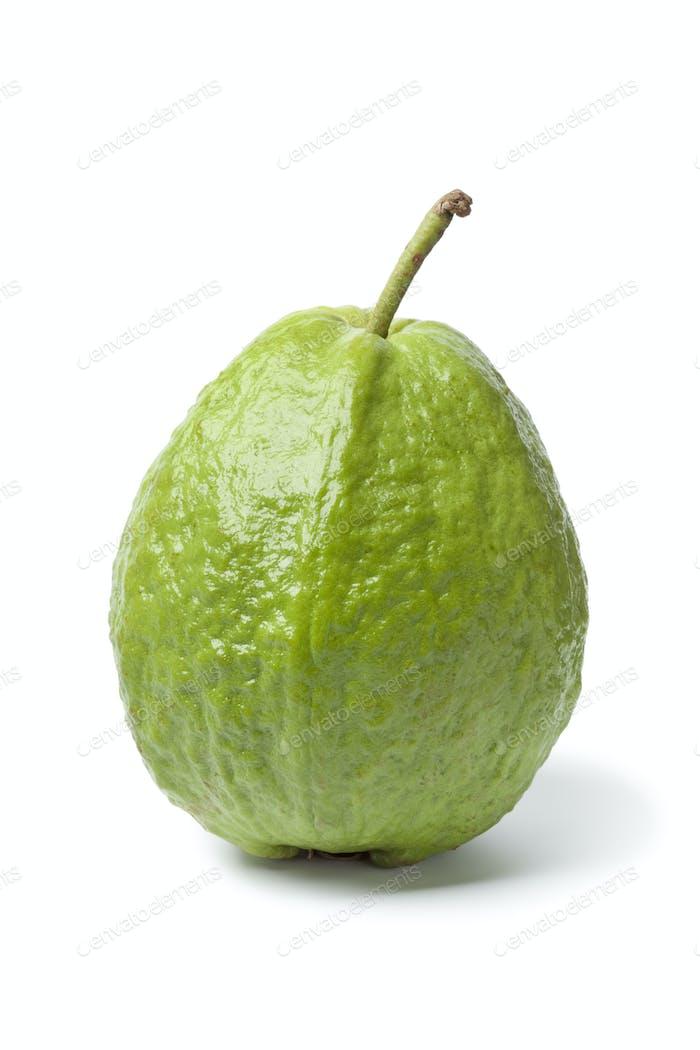 Whole sinfgle fresh guava