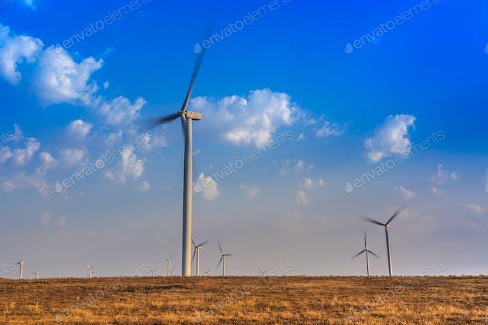 wind power turbines