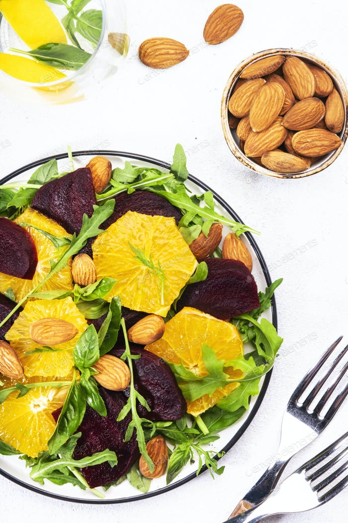 Beetroot Salad with Orange