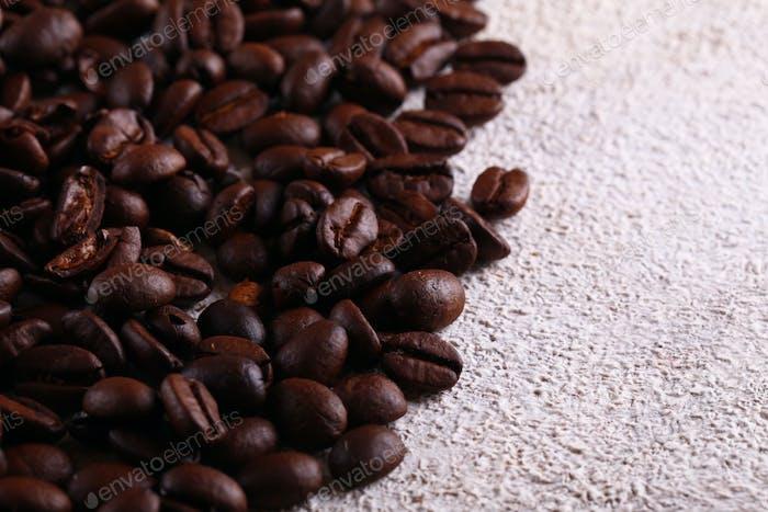 Natürliche Bio-Kaffeebohnen