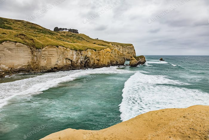 Tunnel Beach Neuseeland