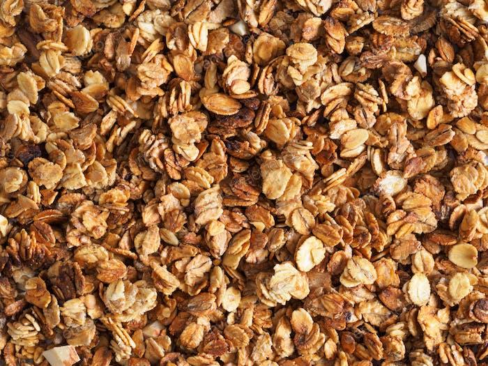homemade granola texture