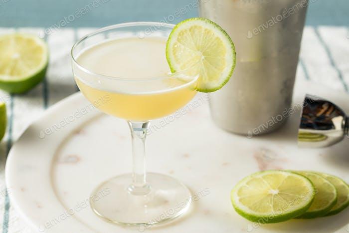 Homemade Vokda Gimlet Cocktail