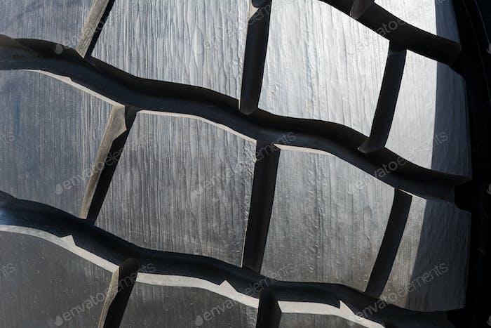 Heavy truck tire texture