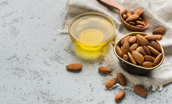 Healthy oils concept
