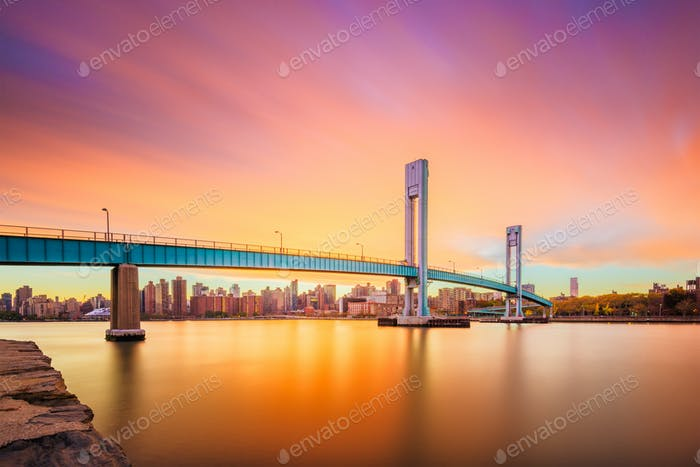 Wards Island Bridge, New York City