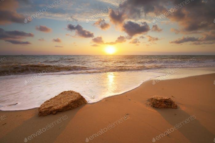 Beautiful seascape nature.