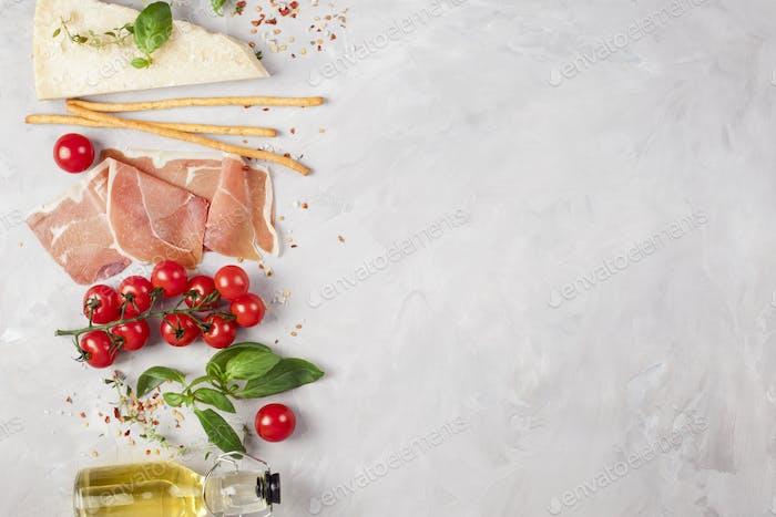 Traditionelle Zutat der italienischen Küche