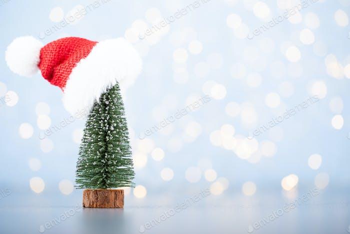 Christmas ball background.