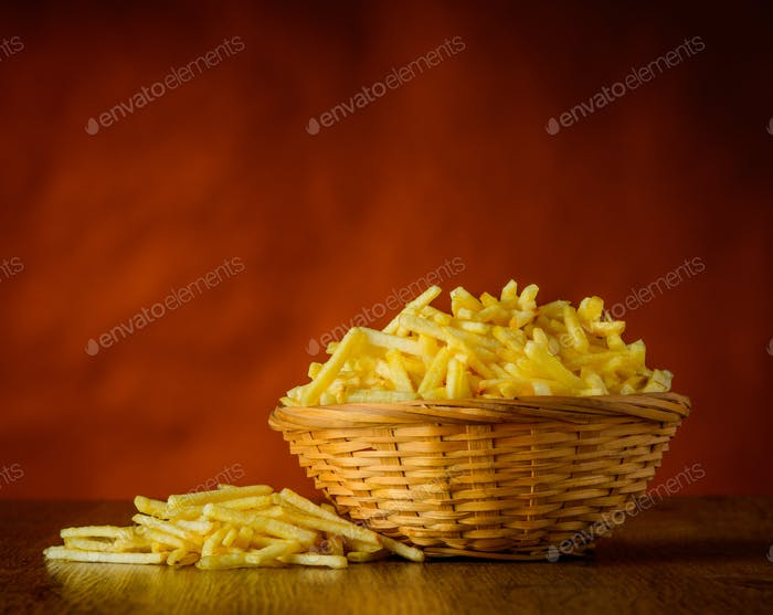 Potato Sticks in Still-Life