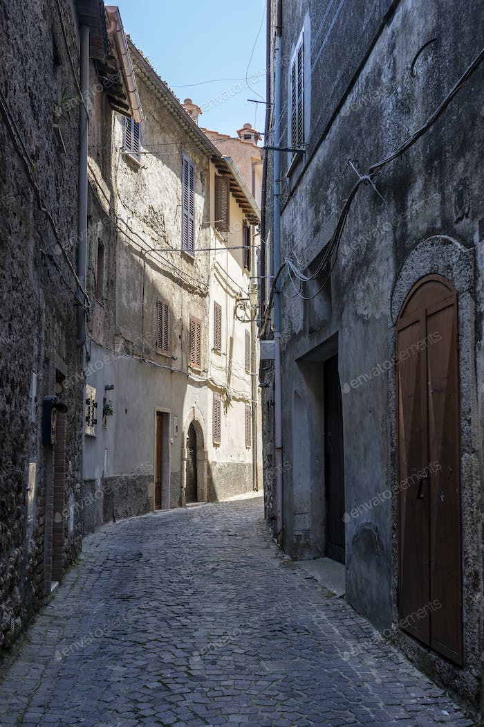 Norma, historic town in the Latina province
